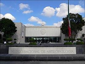 VISITA EL MUSEO NACIONAL DE ANTROPOLOGÍA