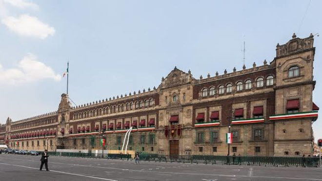 VISITA PALACIO NACIONAL